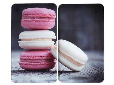 2-tlg. Herdabdeckplatten-Set Macarons Eilerman