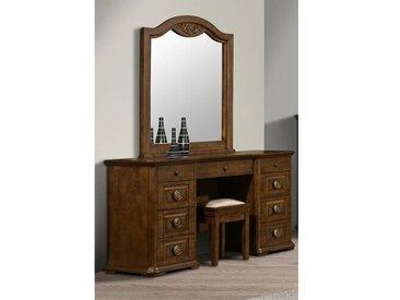 Schminktisch-Set Dowden mit Spiegel