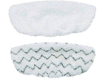 2-tlg. Reinigungspads und Dampfreiniger-Pads-Set