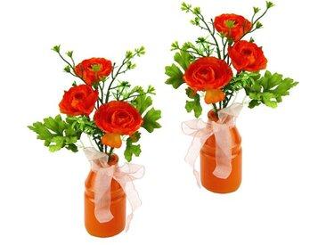 Kunstblume Hahnenfuß in Vase