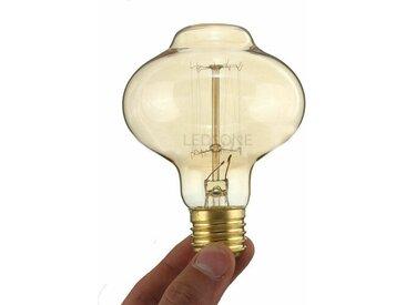 60W E27 dimmbare Glühlampe Retro-Glühbirne Bernstein