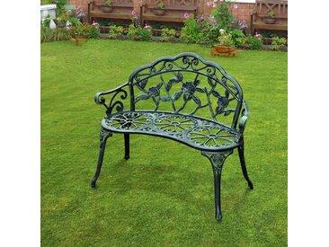 Gartenbank Lightsey aus Aluminium