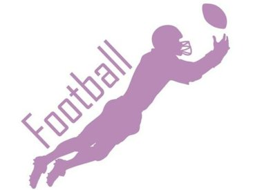 Wandtattoo Football Ball