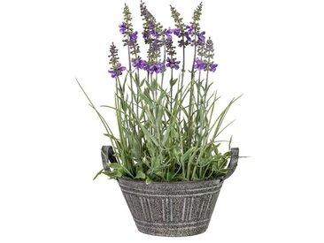 Kunstblume Lavendel-Arrangement im Topf