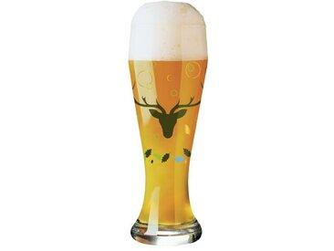 500 ml Bierglas Weizen mit Bierdeckeln