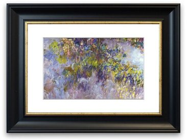 Gerahmter Fotodruck Wisteria [1] von Monet