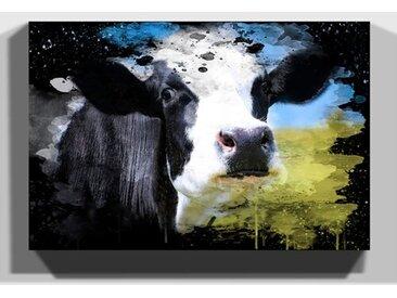 Leinwandbild Kuh auf der Weide 3
