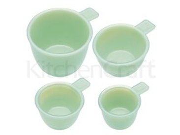 4-tlg. Messbecher-Set KitchenCraft aus Glas