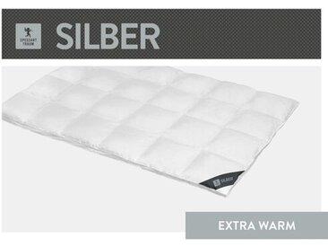 Bettdecke Silber 100% Daunen (Extra Warm)