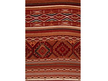 Kelim-Teppich Baring in Rot/Terrakotta/Braun