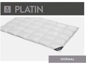 Vier-Jahreszeiten Bettdecke Platin 100% Gänsedaunen (Leicht)