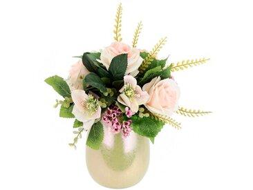 Kunstblume Rose in Vase
