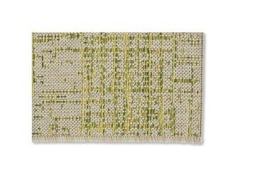Flachgewebe-Innen-/Außenteppich Clyburn in Grün
