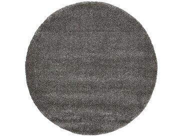HOME STORY Hochflorteppich - grau - Synthethische Fasern, 100% Heatset Frisé - Sconto