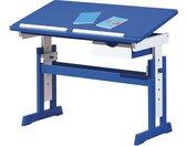 Schreibtisch  Loire - blau - 109 cm - 63 cm - 55 cm