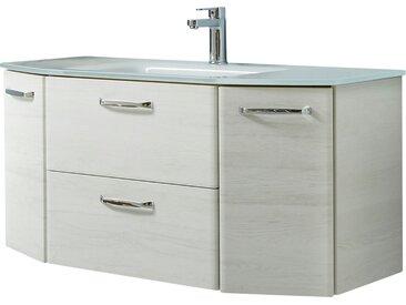 Waschtischunterschrank  Amora - weiß - Sconto