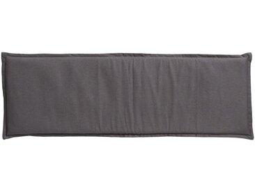 GO-DE Dreisitzer-Auflage - grau - Mischgewebe, 85% Baumwolle, 15% Polyester - 48 cm - 6 cm - Sconto