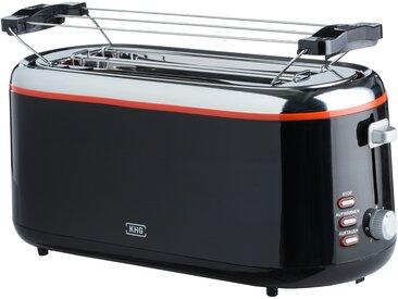 KHG Langschlitz-Toaster  TO-1301LSS - schwarz - Kunststoff, Metall - 41 cm - 18,8 cm - 18,2 cm - Sconto