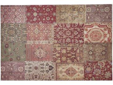 Webteppich - mehrfarbig - Synthethische Fasern, 34% Baumwolle, 33% Polyester, 33% Polyacryl Chenille - 80 cm - Sconto