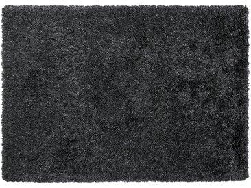 Tuftteppich  Levanto - grau - Synthethische Fasern, 98% Poyester, 2% Polyester (Glanzfaden) - 130 cm - Sconto