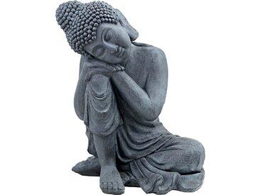 Deko-Buddha - grau - Magnesia - Sconto