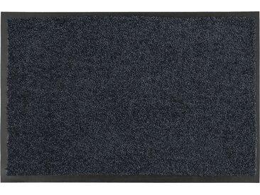 Fußmatte - grau - Synthethische Fasern, 100% Polyamid - 90 cm - Sconto