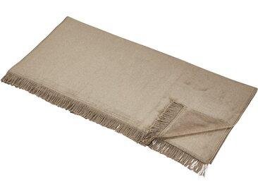 LAVIDA Sofaläufer  Uni - beige - 60% Baumwolle, 40% Polyacryl - Sconto