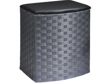 Wäschekorb - grau - Sconto