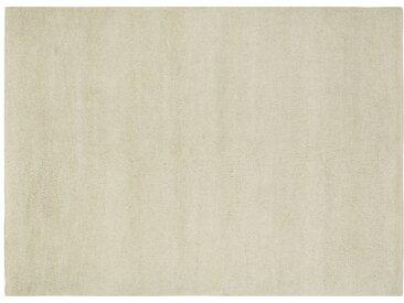 Berber-Teppich - creme - reine Wolle, Wolle - 140 cm - Sconto