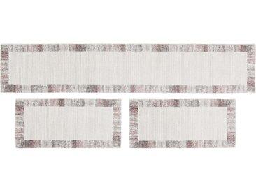 Bettumrandung  Madison - grau - Synthethische Fasern - Sconto