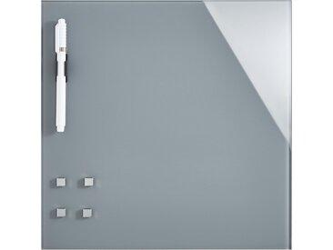 Memoboard 30x30 cm  Grau - grau - Sconto