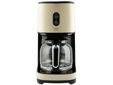 KHG Kaffeeautomat - creme - Edelstahl, Kunststoff - 18 cm - 35 cm - 25 cm - Sconto