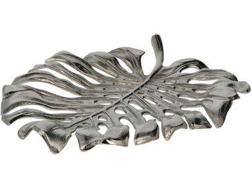 Deko Schale - silber - Aluminum - Sconto