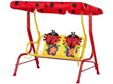 Kinderschaukel - rot - 108 cm - 110 cm - Sconto