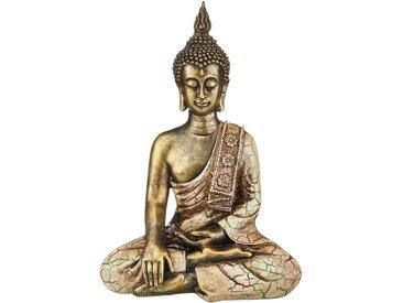 Buddha - gold - Polyresin (Kunstharz) - 25 cm - 34 cm - 14 cm - Sconto