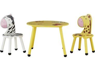 Kindersitzgruppe - gelb - Sconto