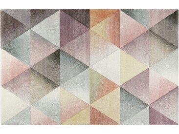 Kurzflorteppich - mehrfarbig - Synthethische Fasern - Sconto