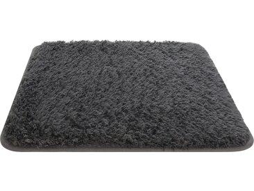 HOME STORY Badteppich - grau - 100% Polyester - Sconto