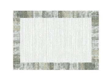 Webteppich  Madison - grau - 100% Polypropylene Heatset, Synthethische Fasern - 160 cm - Sconto