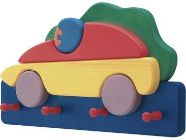 Kindergarderobe  Rennauto - mehrfarbig - Sconto