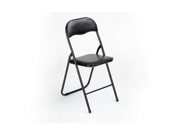 Klappstuhl - schwarz - Sconto