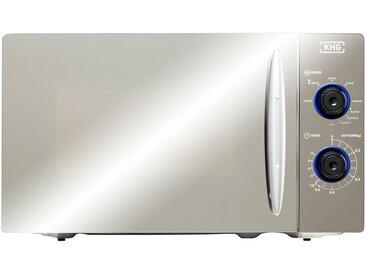KHG Mikrowelle  MW-20GSG - silber - Glas , Metall-lackiert - 44 cm - 25,9 cm - 34 cm - Sconto