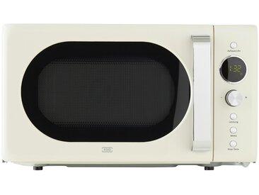 KHG Mikrowelle - creme - Metall, Kunststoff, Metall-lackiert, Glas - 45,2 cm - 26,2 cm - 34,9 cm - Sconto