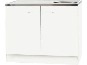Spülenunterschrank, 2-türig   Klassik 50 W - weiß - Sconto