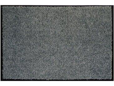 Fußmatte - grau - Synthethische Fasern - Sconto