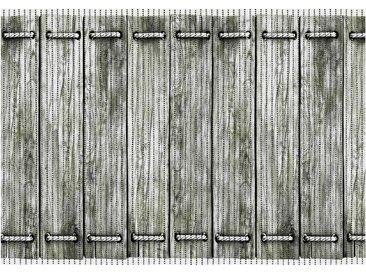Aquamatte  Holzbrücke - grau - PVC Weichschaum - 65 cm - Sconto