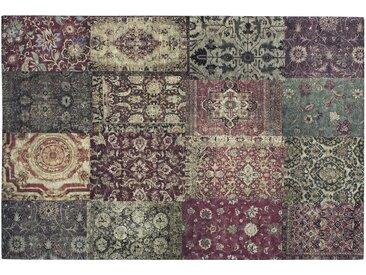 Webteppich - mehrfarbig - Synthethische Fasern, 34% Baumwolle, 33% Polyester, 33% Polyacryl Chenille - 120 cm - Sconto