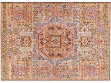 SCHÖNER WOHNEN Kurzflorteppich - orange - 100% Polyester, Synthethische Fasern - 170 cm - Sconto