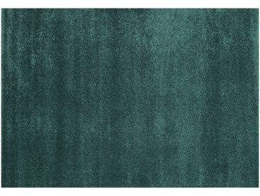 Webteppich  Roma - türkis/petrol - 100% Polypropylen, Synthethische Fasern - 160 cm - Sconto