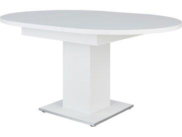 Esstisch - weiß - Sconto